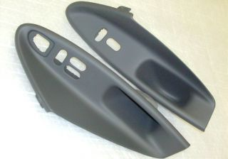 2003 Ford Mustang Door Panel Window Switch Plastic Insert New OEM Pair