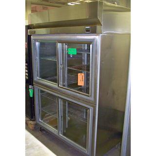 Hobart Stainless Steel 4 Glass Doors Refrigerator Q2 5