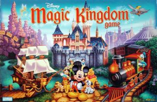 NEW DISNEY MAGIC KINGDOM BOARD GAME HASBRO MICKEY MOUSE PARTY KIDS