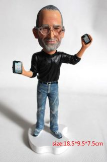Apple Founder Statue New Steve Jobs action Figure