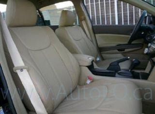 Honda Civic 4 Door Sedan 2006 2010 Clazzio Leather Seat Cover 1st 2nd