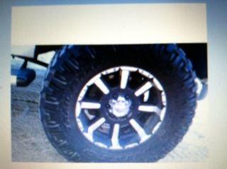 Chevy Silverado 2007 4 Wheel Drive Rims and Tires 18 Teens