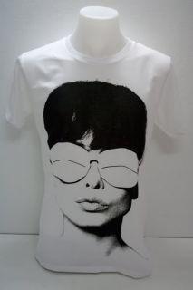 Audrey Hepburn New Wave 80s Punk Rock T Shirt L