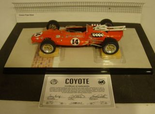 14 A J Foyt Sheraton Thompson Coyote 1967 Indianapolis 500 Winner
