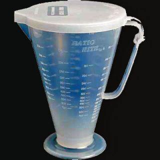 Ratio Rite Premix Gas Fuel Oil Mixer Mixing 2 Stroke Measuring Cup