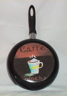 Coffee Cafe Frying Pan Wall Decor Bistro Kitchen Decoration Caffe