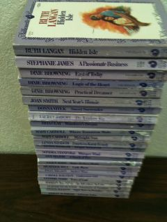 Romance Paperbacks 1980s Ruth Langan Stephanie James Numbered