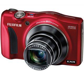 Fuji FinePix F770EXR Red 16 Megapixel Digital Camera 074101012958