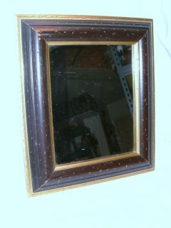 Traditional Black and Gold Framed Mirror Simple Elegance for Any Decor