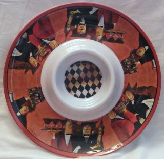 Jennifer Garant Fat Chef Italian Bistro Decor Order Up Chip and DIP