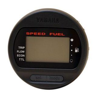 83500 11 BK Digital Multi FNC Boat Speeometer Fuel Meter Gauge