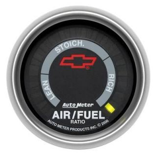 3675 00406 Sport Comp Digital Chevy Bowtie Series Gauge Air Fuel Ratio
