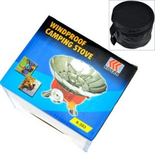 Windproof Picnic Camping Stove Butane Propane Gas Stove Cookout Burner
