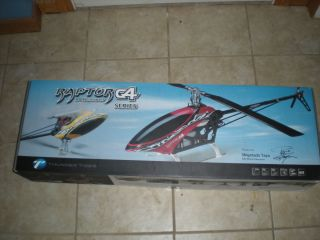 RC Helicopter Thunder Tiger Raptor G4 Gas or Electric