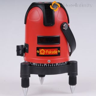 New Fukuda Infrared 5 Line 1 Point, 4V1H, Laser Level, Tester, Meter