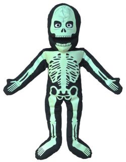 25 Pro Puppets Full Body Glow in The Dark Skeleton Puppet