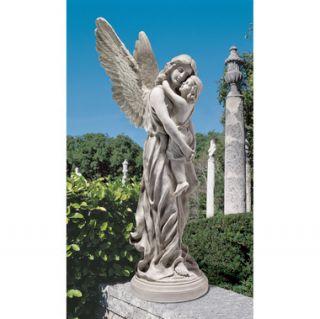 Heavens Guardian Angel Garden Statue Sculpture Yard Art Memorial