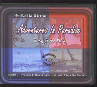 Adventures in Paradise Complete Series w Gardner McKay