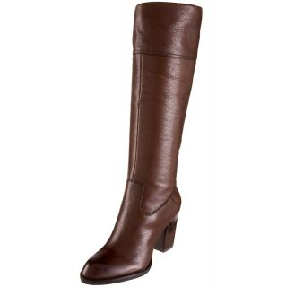 Franco Sarto Brown Leather Fashion Knee hight (has original box in you
