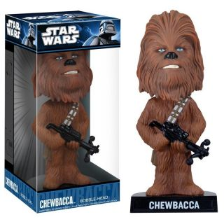 Funko Star Wars Chewbacca Wacky Wobbler Bobble Head