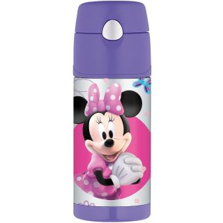 Thermos Funtainer Drink Bottle Minnie Mouse 12 Ounce