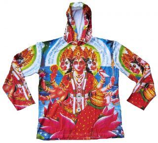Gayatri Mata Hindu Mantra Shiva Tattoo Designer Painting Hoodie T
