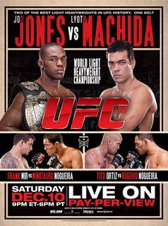 UFC 140 JON JONES v MACHIDA Toronto 12/10/2011 Official Full Sized