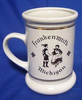 Frankenmuth Michigan Dancing German Beer Stein Mug Cup