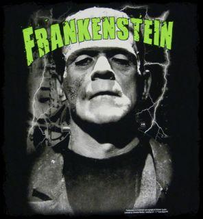 frankenstein classic face t shirt screen printed t shirt official