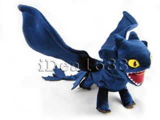 How to Train Your Dragon Toothless Night Fury Plush Toy