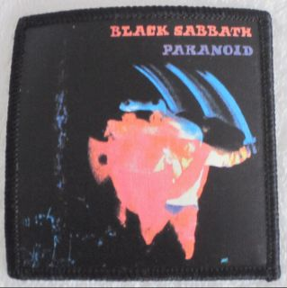 BLACK SABBATH HARD ROCK MUSIC CONCERT PARANOID MUSIC ALBUM PATCH