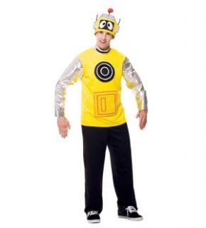 Yo Gabba Gabba Plex Costume Adult Medium 42 44 New