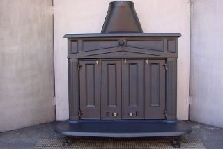 FRANKLIN Wood Burning Stove Burner Woodburning FIREPLACE INSERT