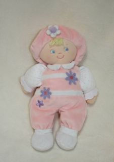 Baby Gund Sonja Girl Pink Doll Plush Lovey Stuffed Toy 58543