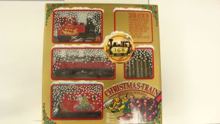LGB G Scale Christmas Train Set 72555