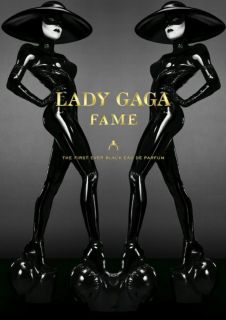 Lady Gaga The Fame Promo Box Set Perfume 100ml Body Lotion Shower Gel