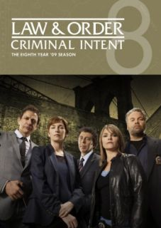 gaiam americas law order criminal intent season 8 dvd 4discs this item