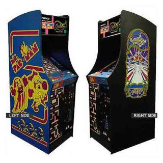 MS Pac Man Galaga Class of 1981 Arcade Gaming Cabinet Used