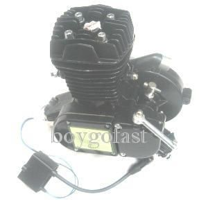 engine motor kit gas motorized bicycle 2 stroke black t80bk