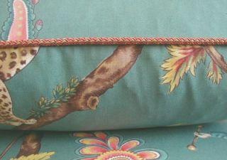 Scalamandre Print Fabric Custom Designer Throw Pillows New 2 Chinois