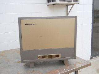 Console Type Gas Space Heater Gas or LP