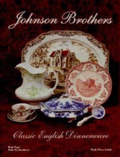 Johnson Brothers English Dinnerware Book Flow Blue More