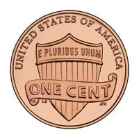 2012 Lincoln Penny Cent Union Shield Free Priority Shipping