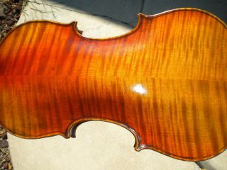 Fine Italian Label Violin Gennaro de Luccia Anno 1927 from Estate