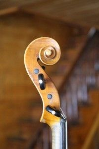 Vintage Violin Labeled Gennaro De Luccia 1925