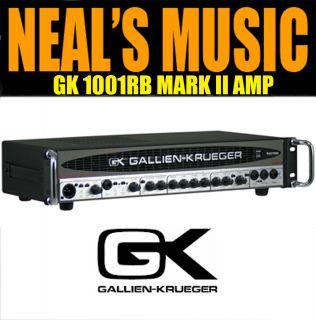 Gallien Krueger GK 1001RB Mark II Bass 700 Watt Amp