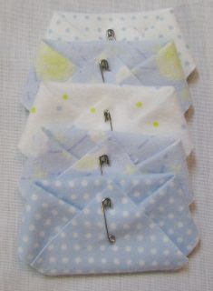 Dirty Diaper Baby Shower Game or Party Favor Boy Blue Nursery Prints