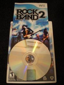 Wii Rockband bundle Guitar, Drum set, Mic, RB1,2+