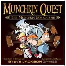 Munchkin Quest Board Game Steve Jackson Games New Board Games