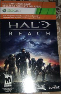 Halo Reach Xbox 360 Full Game